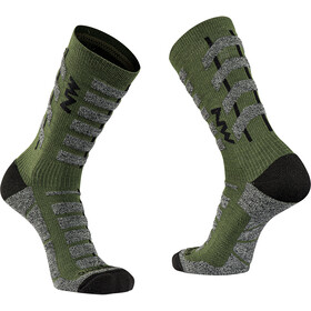 Northwave Husky Ceramic Tech High Sock Men, forest green